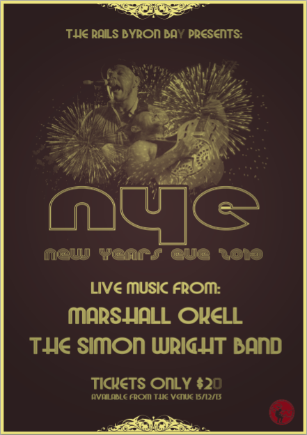 New Years Eve in Byron Bay!